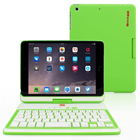 info for dbdc3 e2805 iPad Mini 1 / 2 / 3 360 Rotatable Keyboard Case, Snugg - Ultra Slim  Keyboard Cover Case with Bluetooth Connectivity For Apple iPad Mini 1 / 2 /  3 ...