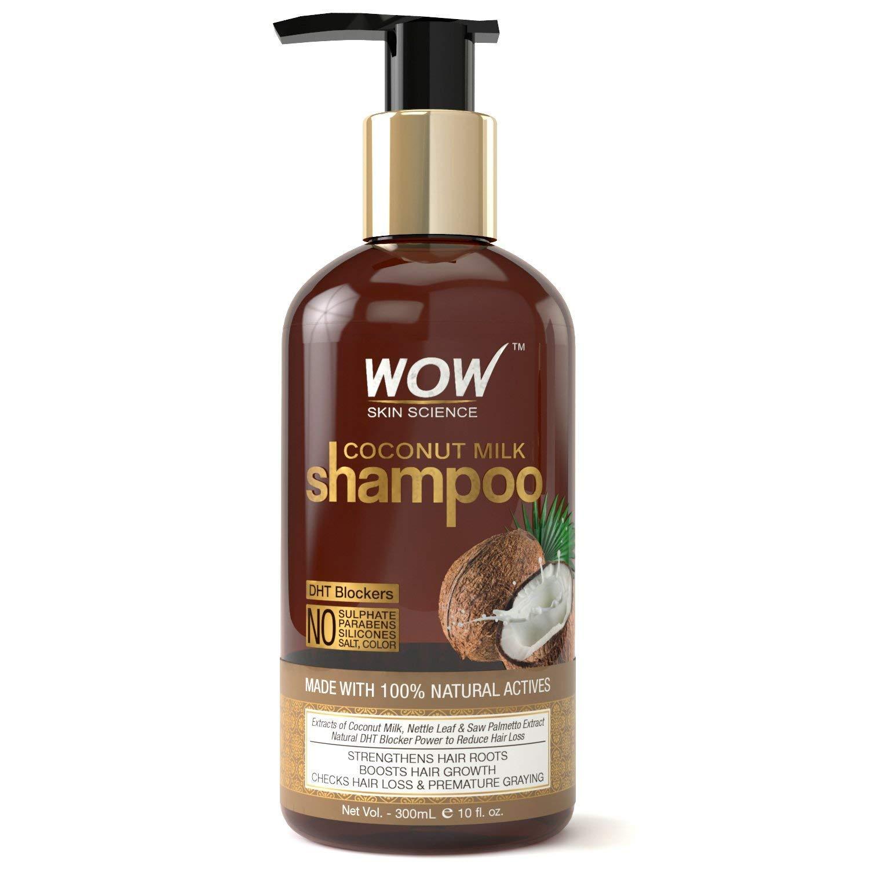 WOW Coconut Milk No Parabens, Sulphate, Silicone, Salt &