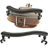TIMESETL Violin Shoulder Rest for 4/4-3/4 Adjustable Pad Soft EVA Foam and Hard Plastic