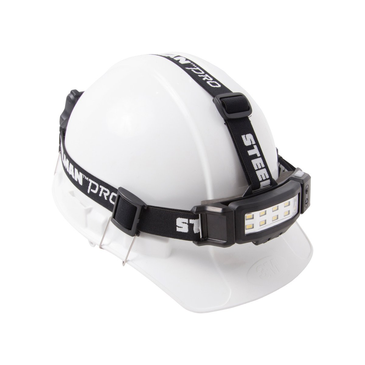 STEELMAN PRO 79052 Slim Profile LED Headlamp with Rear Flasher and 3 AA Batteries by Steelman Pro (Image #2)