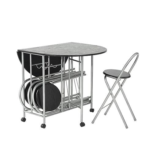 Folding Table And Chairs Set: Amazon.co.uk