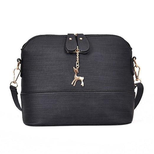 21c106c461 Image Unavailable. Image not available for. Color  Sunyastor Women  Messenger Bags Vintage Leather Handbag Casual Packet Shoulder ...
