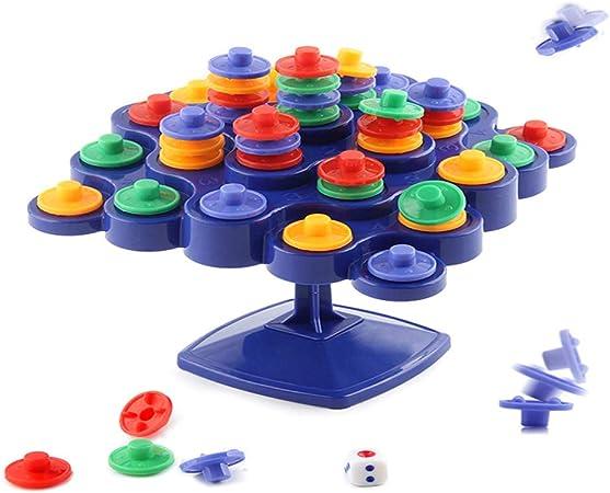 Egosy Balancing Top Tower Juguete, Niños Juego de Mesa Juguete de Equilibrio Top Tower: Amazon.es: Hogar