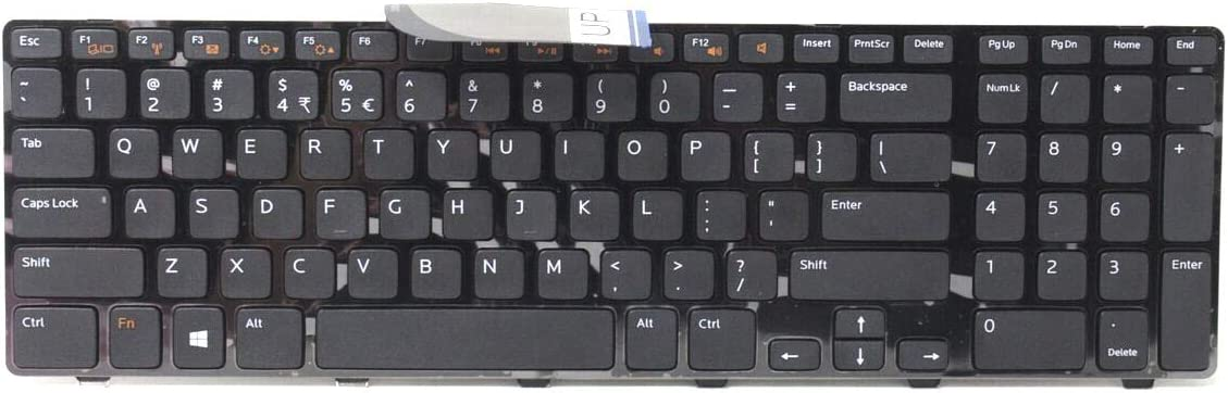 M22MF New Genuine Dell Inspiron XPS 17 (L702X) Laptop Keyboard 454RX M22MF