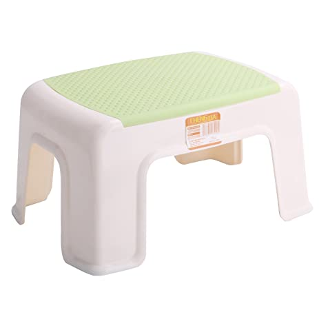 Kleanner Plastic Small Step Stool Childrenu0027s Stool, Anti Slip Foot Perfect  For Toddler Toilet