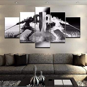 Amazon.com: HIOJDWA Pinturas Modular Pared Arte Imágenes ...