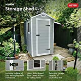 KETER Manor 4x6 Resin Outdoor Storage Shed