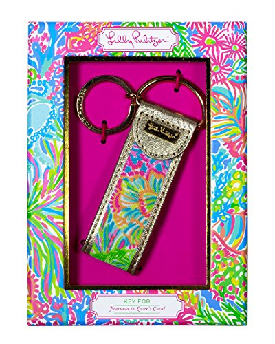 Lilly Pulitzer Lovers Coral Key Fob (163621)