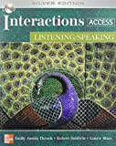 img - for Interactions Access: Listening/ Speaking - With CD by Emily Austin Thrush (2006-11-27) book / textbook / text book