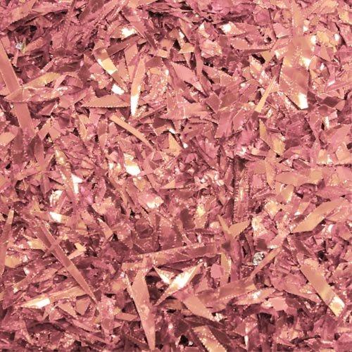 1.5 oz. Pink foil confetti