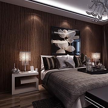 Hohe Qualität, Moderne Und Minimalistische Pure Pigment Farbe Stroh  Beflockung Vliestapeten Schlafzimmer Wohnzimmer Restaurant Wände
