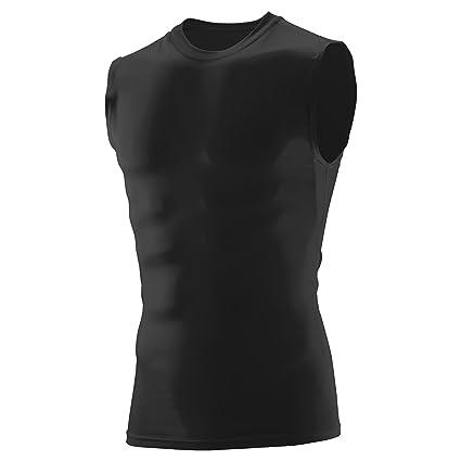7ec14abb Amazon.com: Augusta Sportswear Boys' Sleeveless Compression Shirt ...