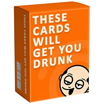 Adoudou These Cards Will Get You Drunk Divertido Juego De Bebidas