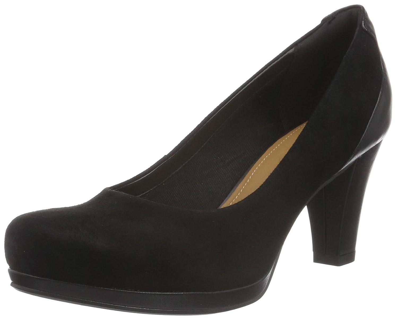 TALLA 39.5 EU. Clarks Chorus Chic, Zapatos de Tacón Mujer