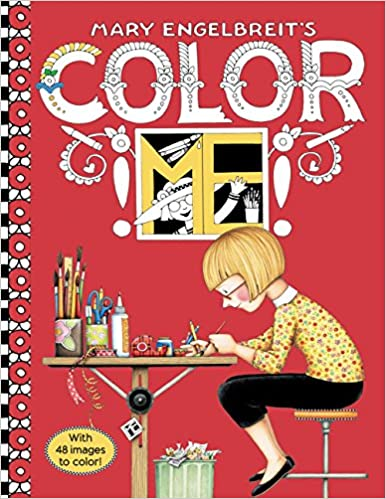Amazon Mary Engelbreits Color ME Coloring Book 9780062445612 Engelbreit Books