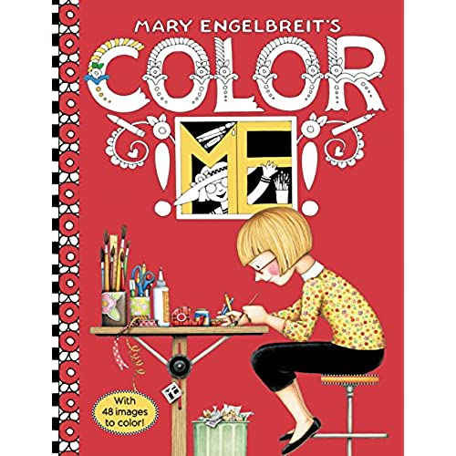 Mary Engelbreits Color ME Coloring Book