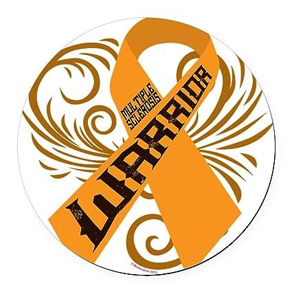 Amazon Cafepress Multiple Sclerosis Warrior Round Car Magnet