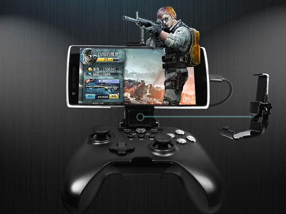 Phone Gamer Handle Smart Phone Clip Clamp for Xbox one Wireless Controller Phone not Included