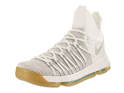 3760f262236 Image Unavailable. Image not available for. Color  Nike Mens Zoom KD9 Elite  Pale Grey Pale Grey Ivory Basketball Shoe ...
