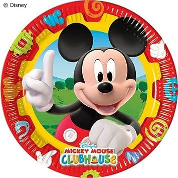 10 Platos * Mickey Mouse * para fiestas y cumpleaños ...