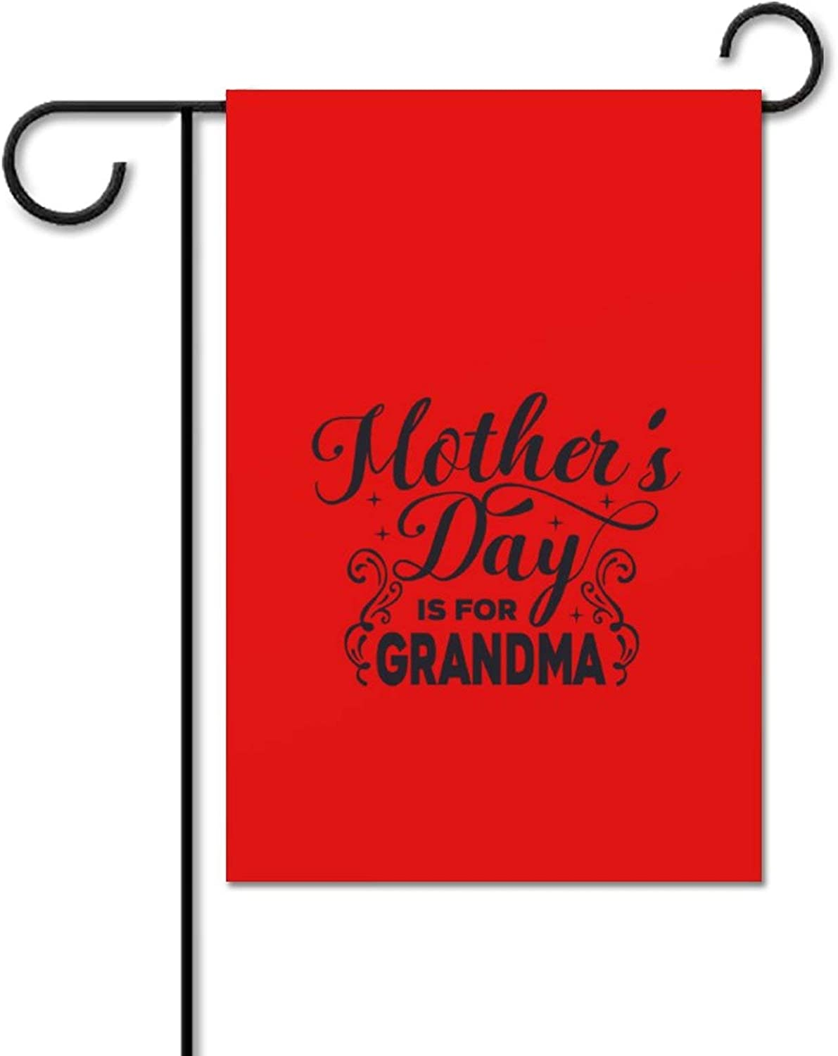 Garden Flag Mothers Day is for Grandma Flag, Olive Garden Flag, Secret Garden Flag, Garden Centre Flag, Garden Flag for Outside, Yard Outdoor Decoration The Best Gift