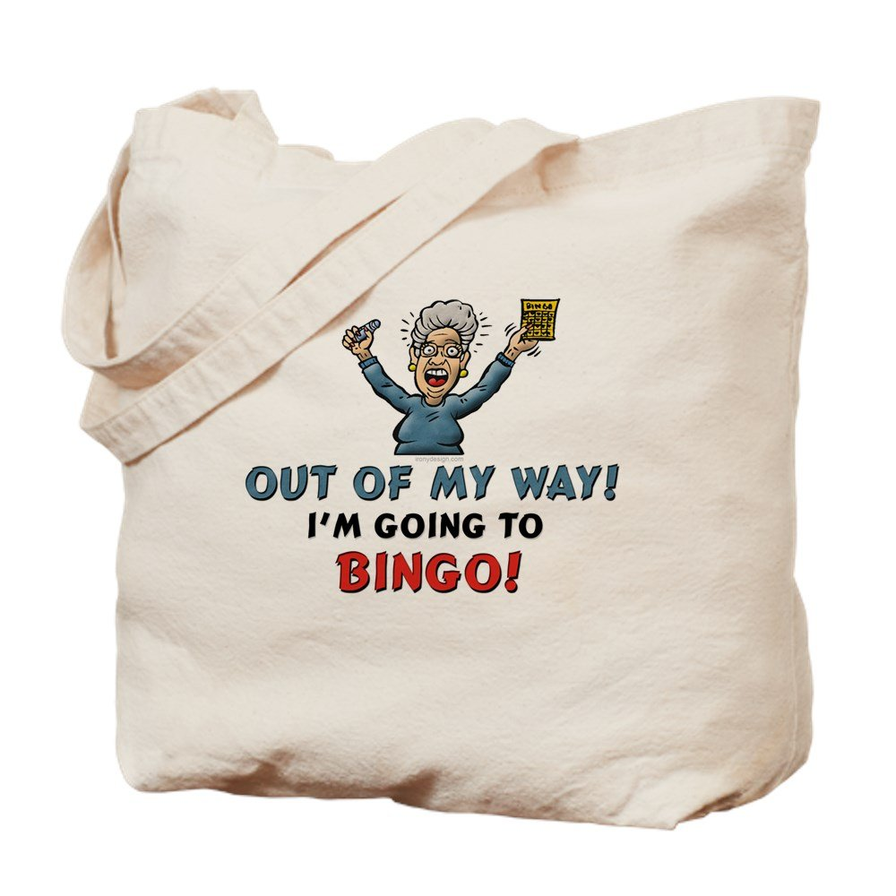 CafePress - BINGO!! - Natural Canvas Tote Bag, Cloth Shopping Bag