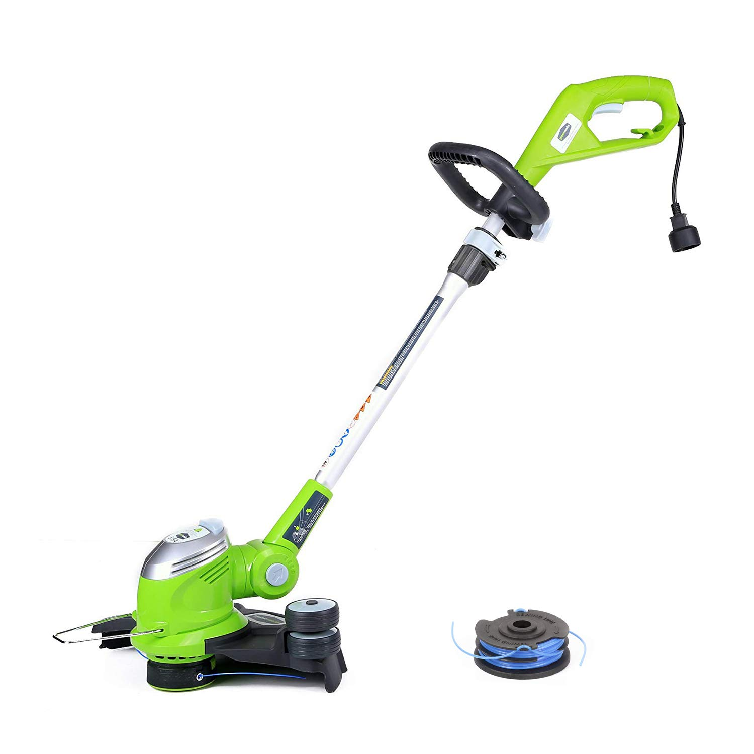 GreenWorks 5.5Amp 15-Inch Corded String Trimmer with Trimmer Line 21272