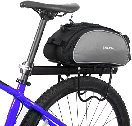 Cycling Bicycle Handlebar Rear Seat Saddle Storage Pannier Pouch Bag Waterproof