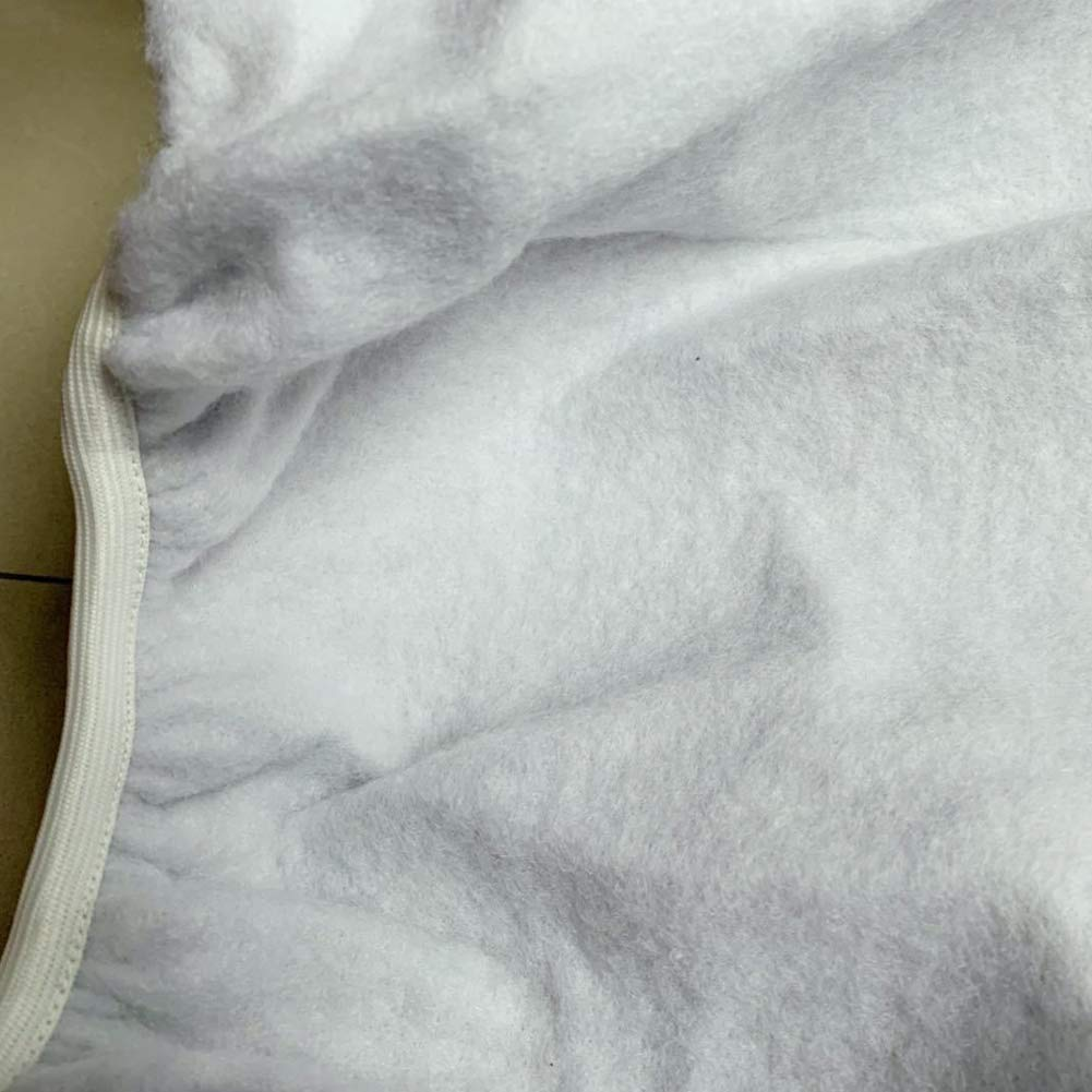 Dyda6 Housse pour Table /à Repasser 130 x 50 cm R/ésiste aux Rayures et aux Taches Housse de Planche /à Repasser Bord /élastique Facile /à Installer et Bien verrouill/ée Taille Unique Gris