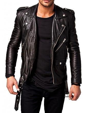 moto leather jacket mens. lj4u men\u0027s moto leather jacket mj 0247 3x-large black mens l