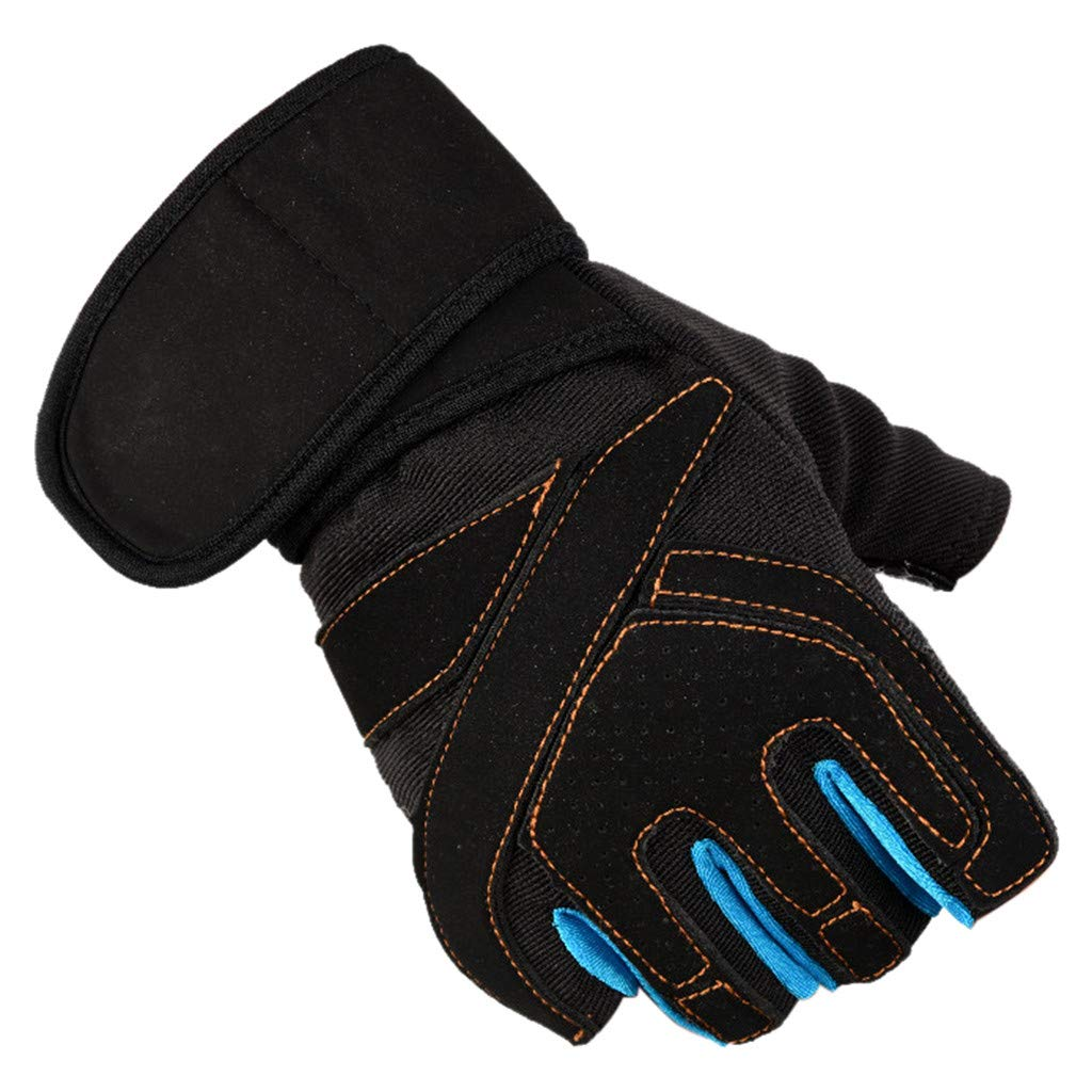 Momoxi Damen Herren Halbe Fingerhandschuhe Unisex Tactical Outdoor Sports Mountaineering Fitness F/äustlinge