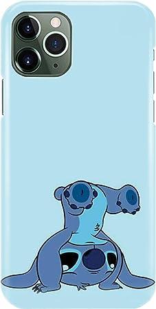 Coque téléphone pour Iphone 11 Lilo Und Stitch Ohana Cute Sweet Disney 20 Dessins
