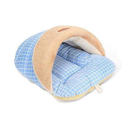 PETCUTE Cama para Perros Cama de Cueva para Perros Sacos de Dormir para Mascotas Nido para