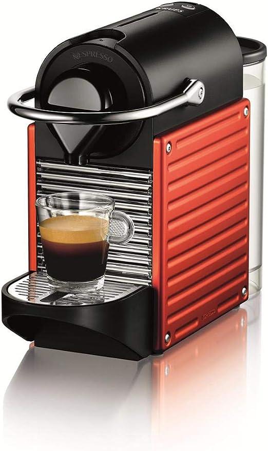 Nespresso Pixie XN3006 Cafetera monodosis de cápsulas, 19 Bares, Apagado automático, 1260 W, 1 Cups, Naranja: Amazon ...