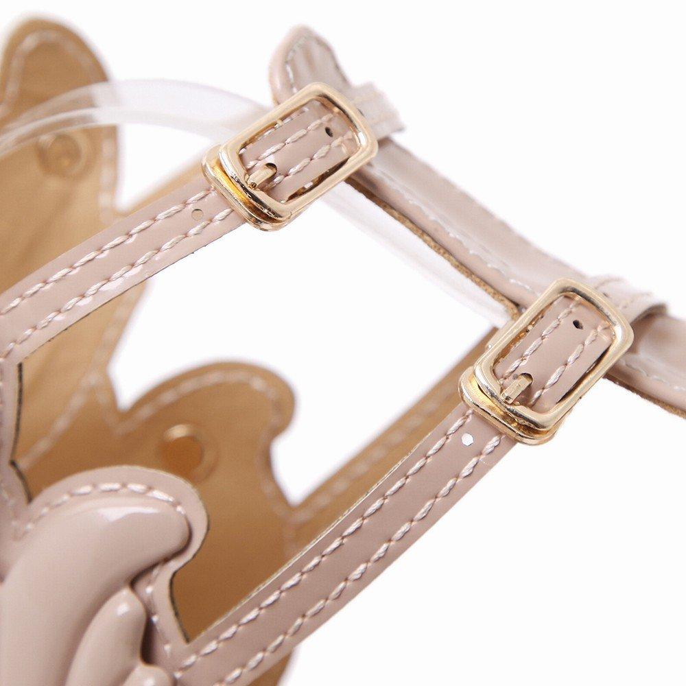 CXY Metallische Sandalen Sandalen Sandalen der Hohen Absatzfrauen,Ein,39 - 8ebbf2