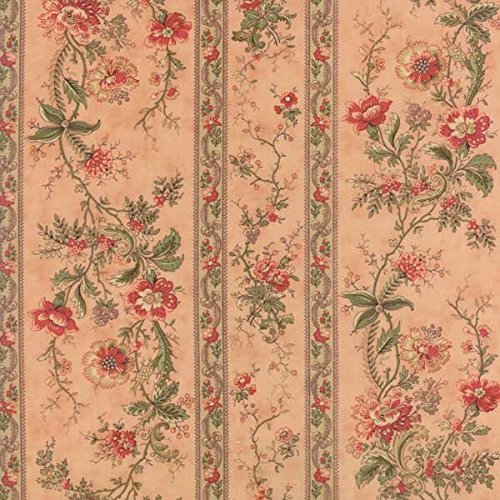 Moda Fabrics 3 Sisters Courtyard Floral Blooming Trellis Pink ()
