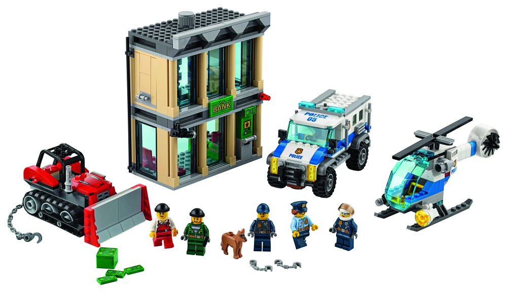 LEGO City Police Bulldozer Building Kit ONLY $38.99 (Reg. $70)