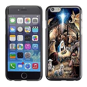 Kobe Diy Case Rugged hybrid Protection Impact Case Cover FOR iphone 6 6S CASE Cover ,iphone 6 4.7 case,iphone 6 cover ,Cases for iphone 6S 4.7 / Virgin Mary Jesus Bethlehem Christmas /