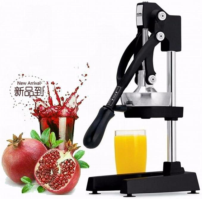 Compra Exprimidor Manual comercial, jugo de naranja, jugo de granada, acero inoxidable Prensa, zumo de fruta, la máquina Inicio Juice Machine en Amazon.es