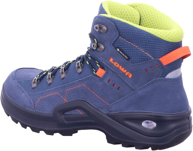 39 Lowa M/ädchen Boots Kody III GTX Mid Outdoorschuh Kombi blau Gr