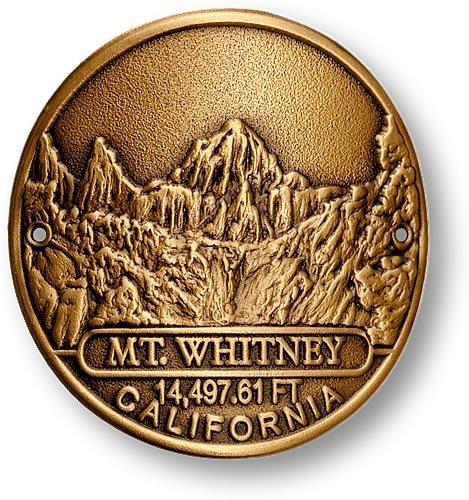 Mount Whitney Hiking Stick Medallion