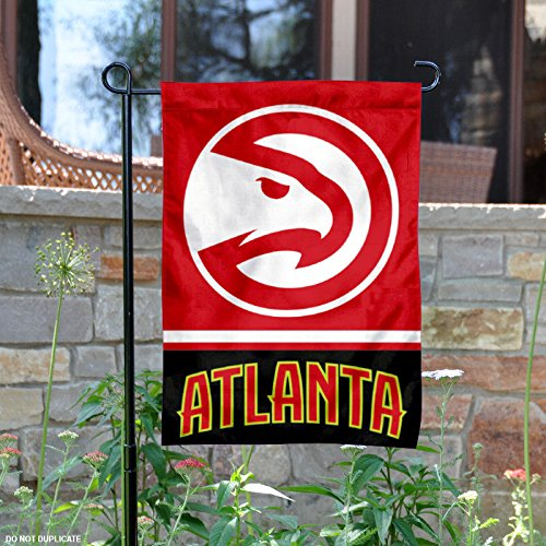 Atlanta Hawks Double Sided Garden Flag