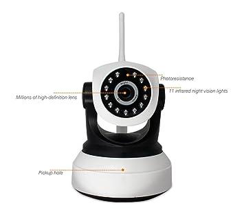 Cámaras de Vigilancia IP WIFI Camera sin hilos, 720p Wireless Video Vigilancia, Cámara de