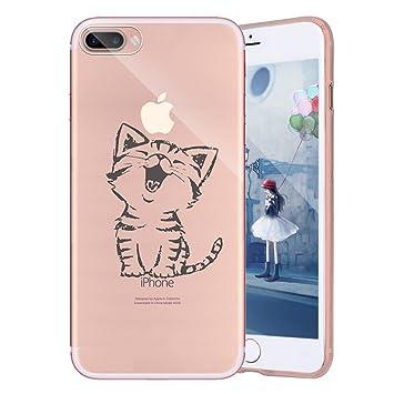 custodia iphone 8 gatto