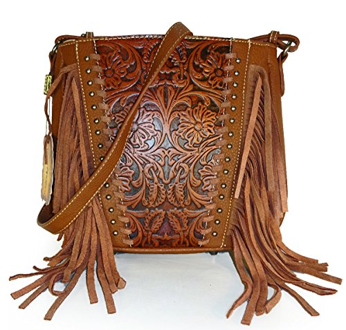 trinity-ranch-concealed-carry-long-strap-messenger-w-tooled-leather-fringe-brn