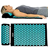 Vive Acupressure Mat - Bed of Nails Massage Pillow Pad - Full Body