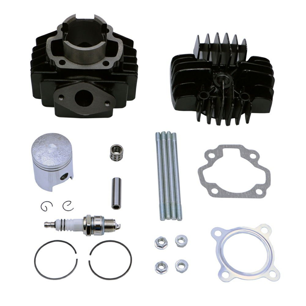 FLYPIG Cylinder Piston Gasket Head Top End Kit for Yamaha PW50 1981 - 2016 ATV-PARTS