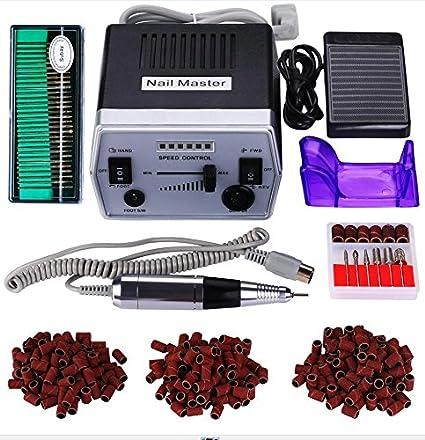 30000RPM Paquete de máquina de pulido de uñas eléctrica profesional de bajo ruido y baja vibración