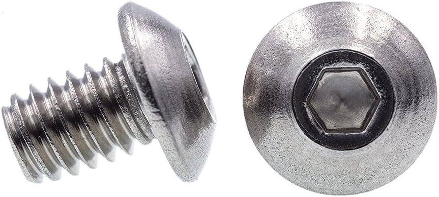 Prime-Line 9177590 Socket Head Cap Screws #8-32 X 1-3//4 in 10-Pack Allen Grade 18-8 Stainless Steel Drive Hex