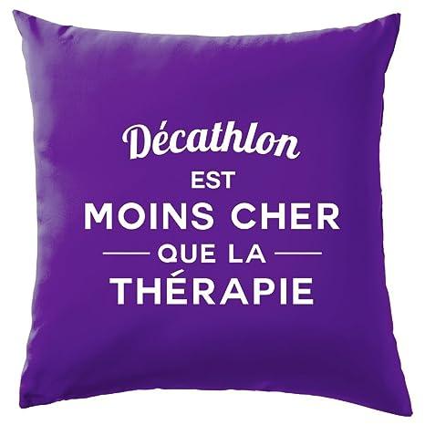 Décathlon es más barato que la terapia - Cojín - 10 Color ...